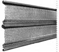 Cortinas Metálicas Galvanizadas Perforadas