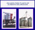 Balanzas para planta de alimento balanceado