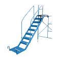 Escalera Metalica Antideslizante.