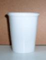 Vaso plastico blanco o translucido