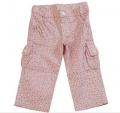 Pantalon bebe floreado