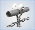 Troley con cadena para estructura tubular