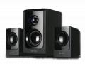 """Sistema de parlantes amplificados de 2.1 canales para TV y video """"HTG066"""""""