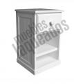 Mesa de luz Bourdain con 1 cajón y estante