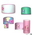 Lámparas Infantiles con Apliques de Tul