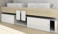 Línea Mobile - Sistema Corredizo para Puertas de Muebles AL 1540