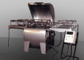 Extractor con eje horizontal