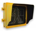 Semaforo óptica peatonal con cuenta regresiva
