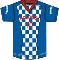 Camiseta de futbol sublimada linea 1