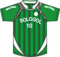 Camiseta de futbol sublimada linea 2