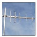 RY09F150 - 9 Elementos 13 dbi. 120 - 200 MHz