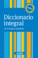 Diccionario Integras, Rùstica