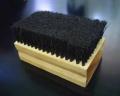 Cepillo de cerda para la limpieza de polimeros