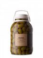 Aceituna verde en salmuera variedad Arauco
