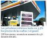Las petroleras subieron hasta un 3,5% los precios de las naftas y el gasoil