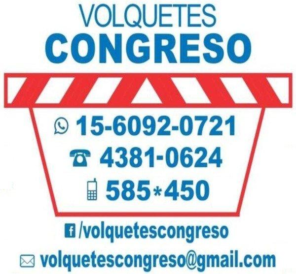 Volquetes Congreso, Buenos Aires