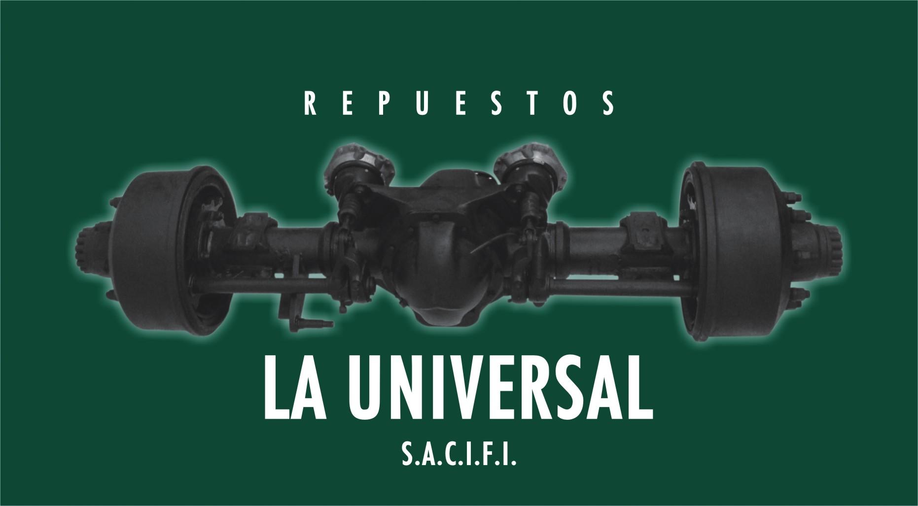 Repuestos La Universal, S.A.,