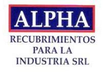 Alpha Recubrimientos Industriales, S.R.L.,
