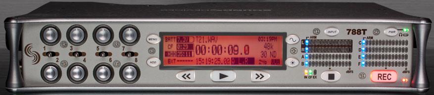 Pedido Grabador de Sonido portátil con 8 entradas