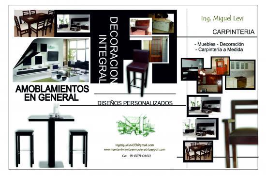 Pedido Lustres y tapizados de muebles