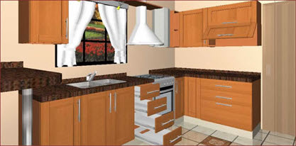 Pedido Diseño 3D de cocinas ProMOB 4i
