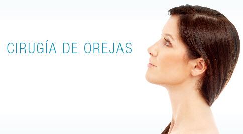 Pedido Cirugía de orejas: auriculoplastía