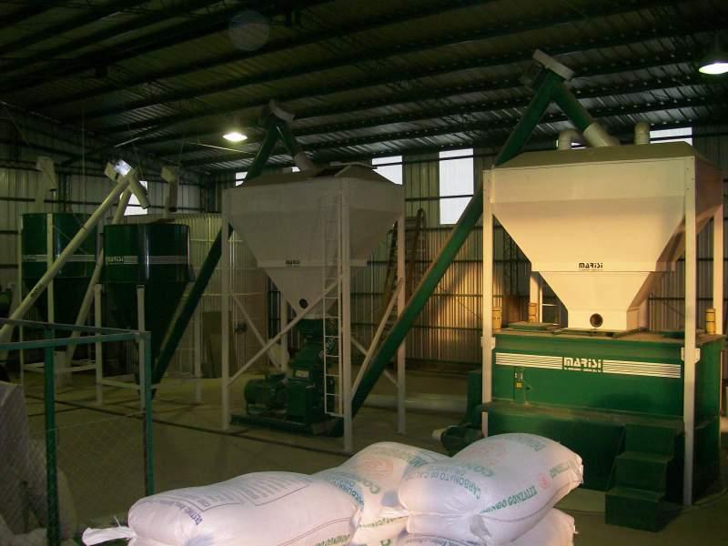 Pedido Planta para la Fabricación de Alimentos Balanceados 'MARISI' Capacidad: 3.000, 5.000 y 8.000 Kgs/Hora.