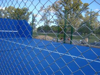 Pedido Canchas de Tenis Construcciones