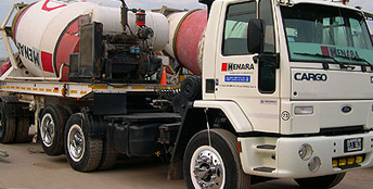 Order Delivery of concrete mixtures
