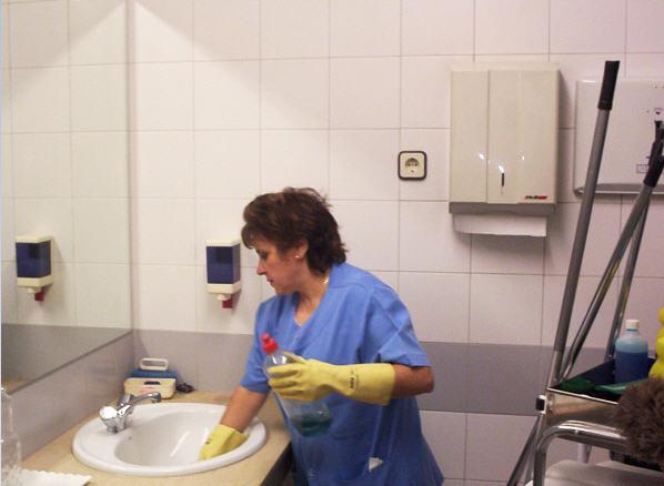 Limpieza De Cabinas De Baño:Limpieza de baños