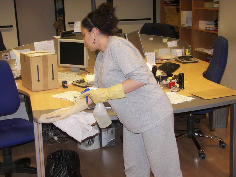Pedido Servicio de limpieza en oficinas