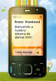 Pedido Alertas SMS