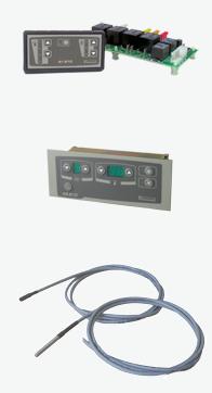 Pedido Controles electricos para equipos de calefacion, Ventilacion y aire acondicionado.