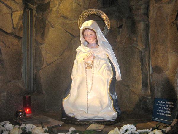 Pedido Tour Virgen de los Tres Cerritos