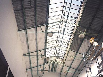 Pedido Reparacion de techos y paredes de Canchas