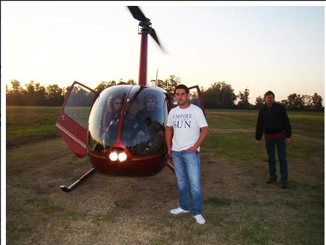 Pedido Helicóptero