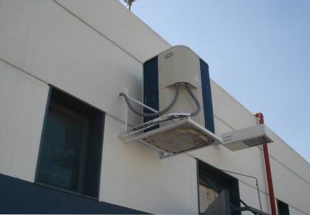Pedido Reparación de equipo frigorífico industrial