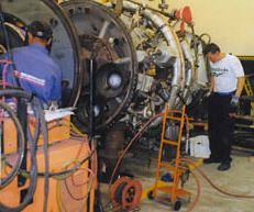 Pedido Reparación de equipos rotativos