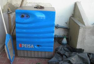 Pedido Montaje equipos de calefacción para piscinas