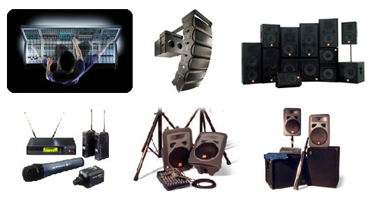 Pedido Alquiler de Sonido para Shows y Grandes Eventos, Conferencias o Congresos