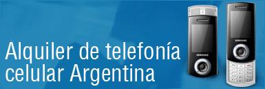 Pedido Alquiler de telefonía celular en la Argentina