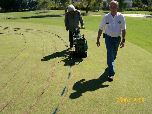 Pedido Construcción y Remodelación de Canchas de Golf