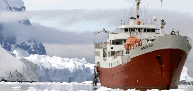 Pedido Cruceros Antártida