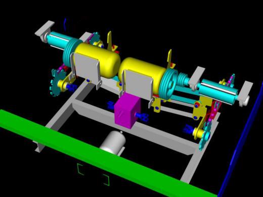 Pedido Digital Design And Graphics - Nuevo Central Argentino Railroad. Crosstie Cutting Machine