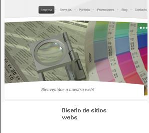 Pedido Diseño de Sitios webs