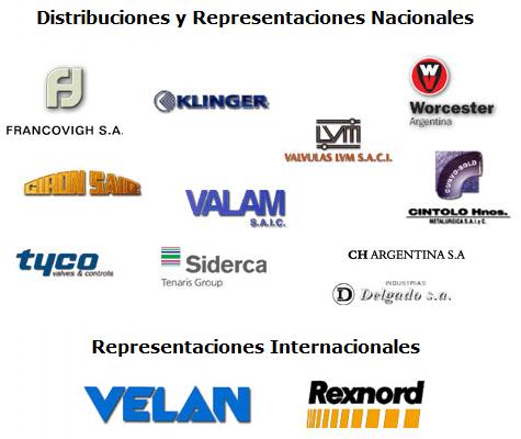 Pedido Distribuciones y Representaciones Nacionales e Internacionales