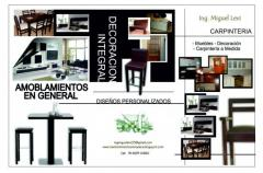 Lustres y tapizados de muebles