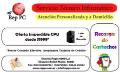 Servicio Técnico Informático - Vamos a Domicilio