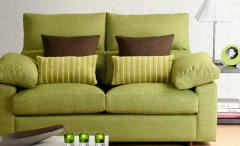 Upholstering of soft furniture