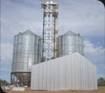 Obra civil de plantas de silos